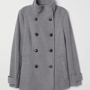 H&M Double Breasted Coat - Size 12 (L)